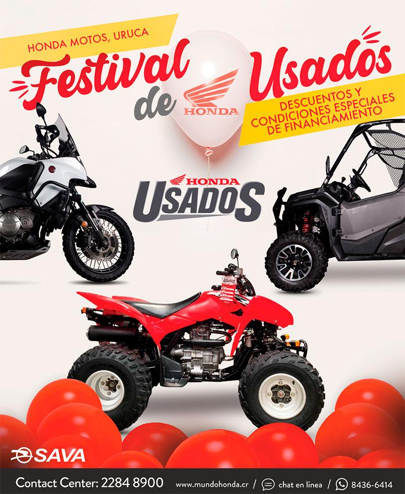 Festival de Usados de Honda
